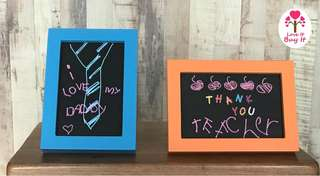 "Photo Frames - Colourful 5"" by 7"" Frames. Perfect friendship and teacher's day gift."