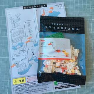 Nanoblock 鴨仔 NBC_021 Duck