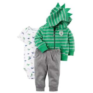 🚚 *18M* BN Carter's 3-Piece Little Jacket Set For Baby Boy #CarouPay