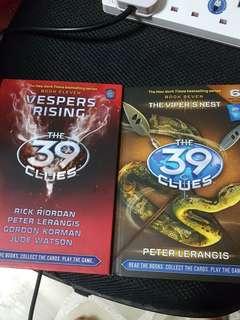 39 Clues Books