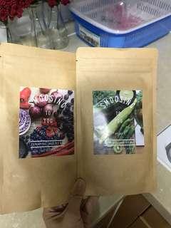 Super food smoothies health drink *chia seed
