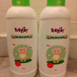 Tollyjoy baby powder twin pack