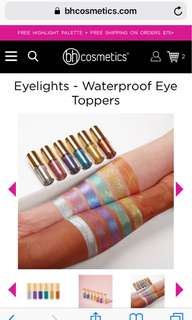 BH Cosmetics Eyelights Waterproof Eye Toppers