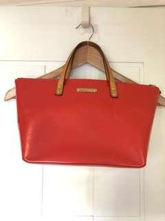 85% 新Louis Vuitton 橙色手提袋