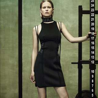 Alexander Wang x H&M scuba dress 潛水料連身裙