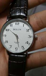 Bolun Classic Stylish Men's Watch Leather Strap