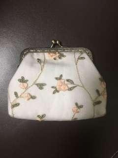 Handmade wallet 碎花手工銀巴仔