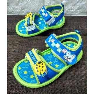 有春ㄟ舖╭☆°BADUENN 巴頓 二段可調魔術粘 舒適 可愛 小男孩 涼鞋╭☆°2605
