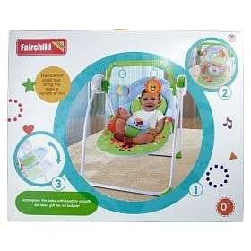 Fairchild baby swing (remote control & mosquito net) 💥restock hot selling💥