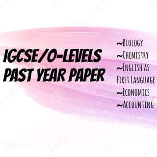 IGCSE O-Levels Past Year Paper 12 year series