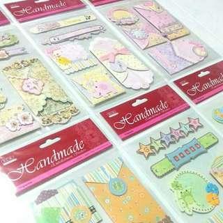 KCK Handmade Embellishment Stickers