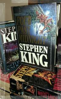 STEPHEN KING collection novel from 80'...