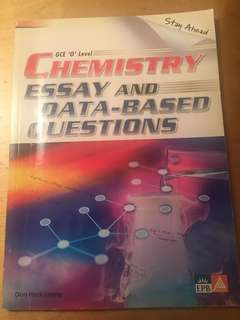 GCE O Level Chemistry Essay and Data-Based Questions
