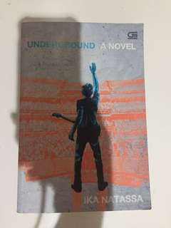 underground novel by ika natassa
