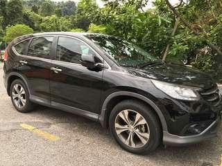 HONDA CRV 2.4CC TAHUN 2014 SAMBUNG BAYAR
