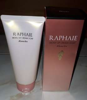 Kanebo raphaie moist up cream soap