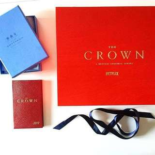 🚚 Limited edition Netflix 'The Crown' diary
