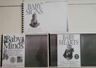 Baby Signs Books Set. Just pay postage.