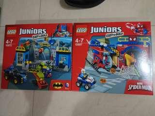 Lego heroes 10672 10687