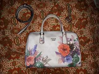 Guess Floral Satchel