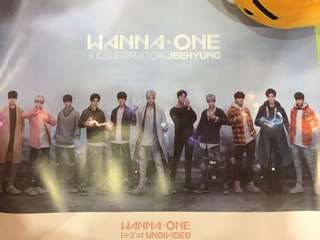 [WTS] Wanna One Undivided Art Ver Poster