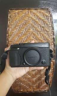 Kamera mirrorless Fujifilm xe-1 xe 1 plus lensa 35mm