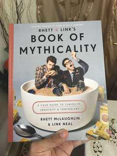 🚚 Hardcover Rhett & Link Book of Mythicality