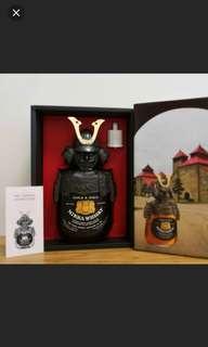舊版余市武將G&G威士忌750ml with box, full set .