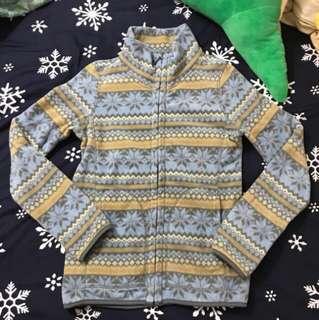 🚚 Uniqlo 刷毛雪花圖案外套