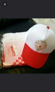 Ndp Banner And cap