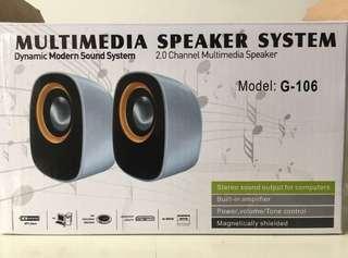 電腦喇叭 speakers multimedia speaker system