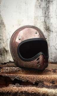 Jenama minimoto Helmet Vintage Retro Caferacer