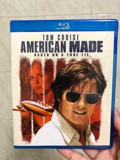 American Made blu ray