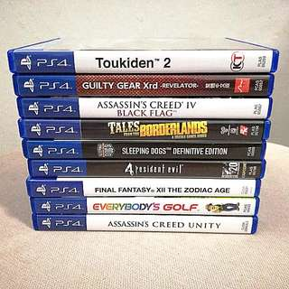 PS4 Games Clearance