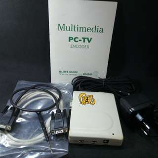 Multimedia PC-to-TV Encoder. New, never used