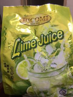 Hicomi Lime Juice (喜多美 青柠汁)-HALAL