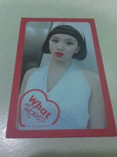 WTS TWICE CHAEYOUNG WHAT IS LOVE PC