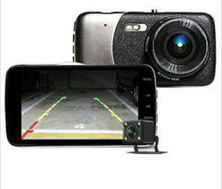 Car camera front and back