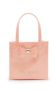 Ted Baker - Peach Pink Didicon Bow Detail Small Shopper Bag 粉紅色手袋