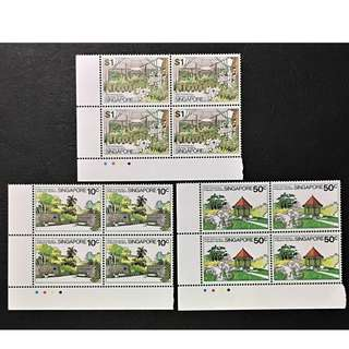 Botanic Garden Singapore Stamp 1979 Block full set of 3, MnH