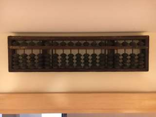 Old Antique Abacus
