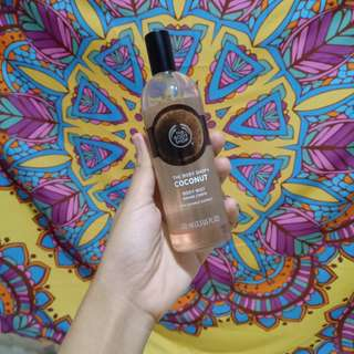 The body shop bodymist coconut