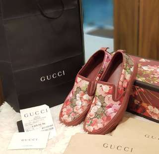 Gucci Blooms Flat Shoes