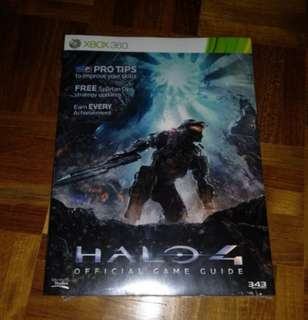 Halo 4 Offical Guide (Sealed)