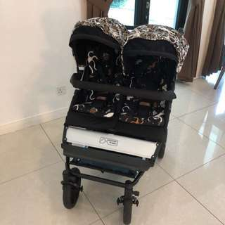 Mountain Buggy Twin Stroller