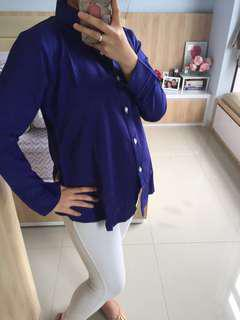 NEW - Blue Electric Blouse