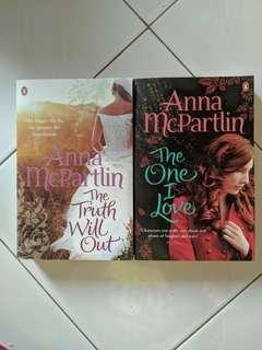 Anna Partlin's novel