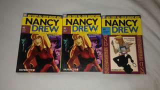 Nancy Drew Papercutz edition #2, #3