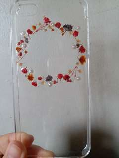Real Pressed Flower Iphone 5/5s Case