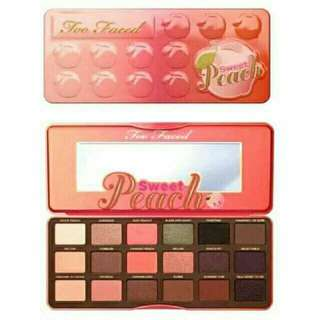 peach palette make up
